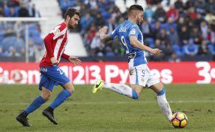 Leganés - Sporting.