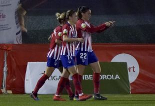 Madrid CFF - At. Madrid Femenino.