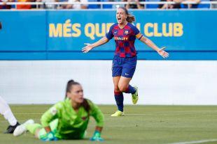 Primera Femenina J1 FC Barcelona /  CD Tacón
