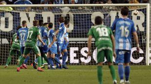 Jornada 32 Málaga - Sporting