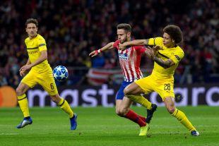 Atlético de Madrid - Dortmund. EFE / Rodrigo Jimenez
