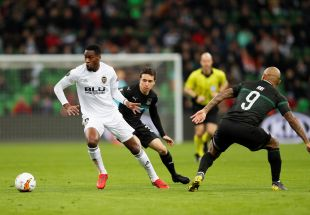 Krasnodar - Valencia CF.