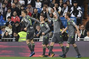 Jornada 18 R. Madrid - R. Sociedad
