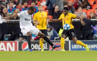 Valencia CF - Young Boys // EFE/ Kai Forsterling