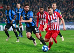 Club Brujas - Atlético de Madrid.