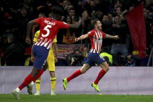Atlético de Madrid - Dortmund. EFE / Kiko Huesca