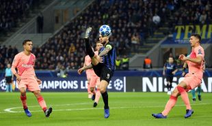 Inter - FC Barcelona. EFE/Matteo Bazzi