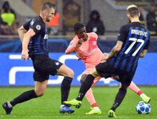 Inter - FC Barcelona. EFE/Daniel Dal Zennaro