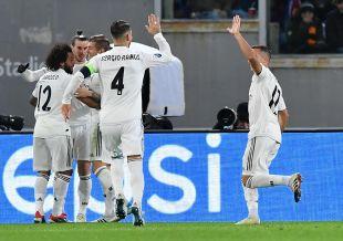 AS Roma - Real Madrid // EFE/Ettore Ferrari
