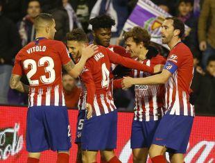 R. Valladolid CF - Atlético de Madrid.