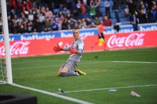 Partido de liga Santander jornada 12