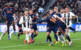 Juventus - Valencia CF // EFE/Alessandro Di Marco
