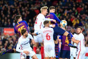 Cuartos - Vuelta- FC Barcelona-Sevilla FC