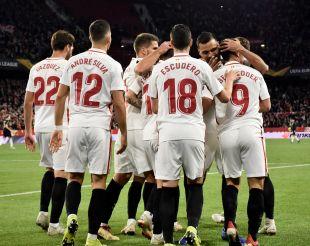 Sevilla FC - Krasnodar  / EFE/Raúl Caro