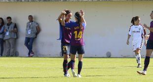 Aitana Bonmatí firmó un doblete ante el Albacete.