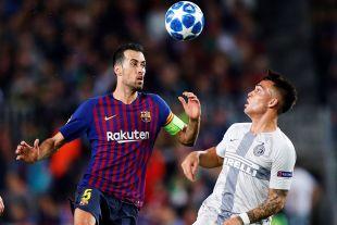 FC Barcelona - Inter de Milán // EFE