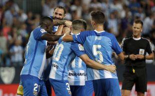 Málaga CF - AD Alcorcón. Partido MalagaCF-AD Alcorcon