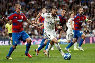 Real Madrid - Viktoria Plzeň // EFE/Mariscal