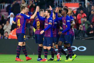 Octavos - Vuelta- FC Barcelona-Levante UD