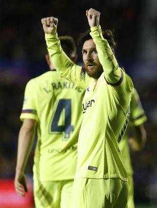 Jornada 16 Levante - FC Barcelona