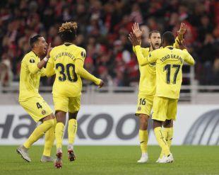 Spartak de Moscú - Villarreal CF.