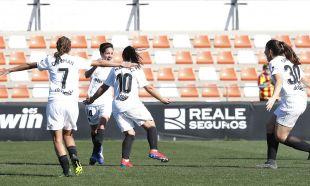 Carol Férez y Mari Paz marcaron los tantos del Valencia.