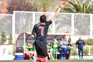 Nekane abrió el marcador en Vallecas.