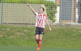 Nekane anotó el único gol del Athletic - Espanyol.