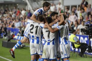 SD Huesca - Real Sociedad.
