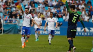 Partido Zaragoza- Sporting de Gijón