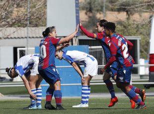 Charlyn Corral marcó el gol que culminó la remontada del Levante ante el Sporting Huelva.