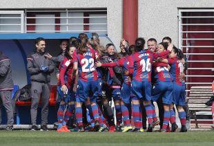 El Levante venció al Sporting Huelva y se afianza en la octava posición de la tabla.