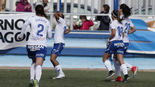 Zaragoza CFF - R. Betis Féminas. Zaragoza Cff - Betis Fémeninas