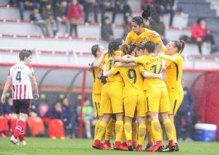 Athletic - At. Madrid Femenino.