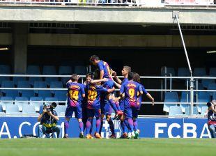 Jornada 40 FC Barcelona B - Cádiz