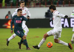 Lokomotiv Moscú - Atlético. EFE/Sergei Chirikov