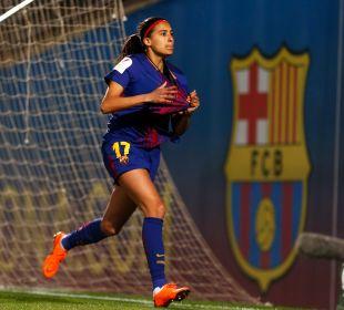 Andressa Alves, de penalti, empató el FC Barcelona - At. Madrid Femenino.