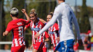 Zaragoza CFF - At. Madrid Femenino. Partido Zaragoza Cff - At Madrid femenino