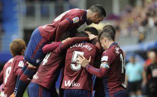 Eibar - R. Madrid. partido
