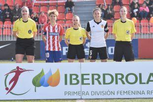 At. Madrid Femenino - VCF Femenino.