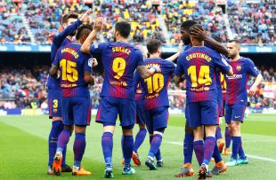 Jornada 32 FC Barcelona - Valencia