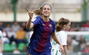 Alexia Putellas marcó el 0-2 ante el Betis.
