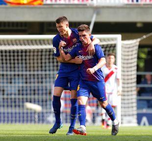 Jornada 36 FC Barcelona B - Rayo