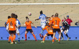 Sporting Huelva - VCF Femenino. Sporting de Huelva-Valencia