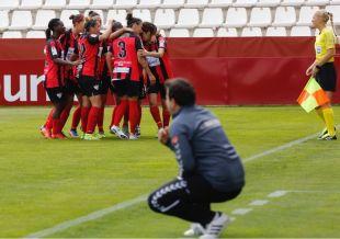 El Sporting venció 0-3 ante el Albacete.