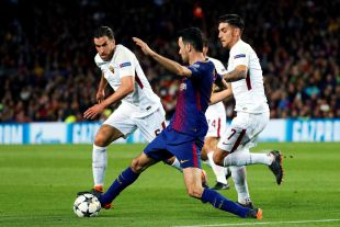FC Barcelona - AS Roma // EFE/ Alejandro García