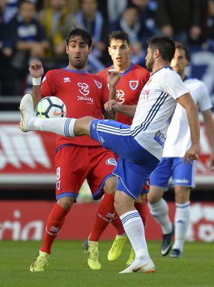Play-off ascenso 1º - Ida Numancia - Zaragoza