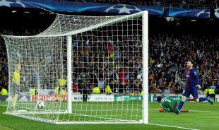 FC Barcelona - AS Roma // EFE/Enric Fontcuberta.