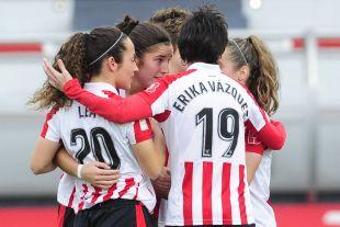 El Athletic Club logró la goleada de la jornada al vencer por 4-0 al Zaragoza CFF