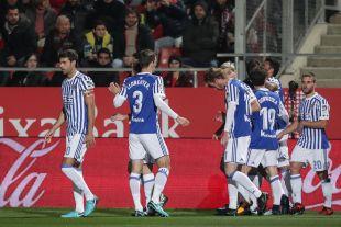Girona - R. Sociedad.